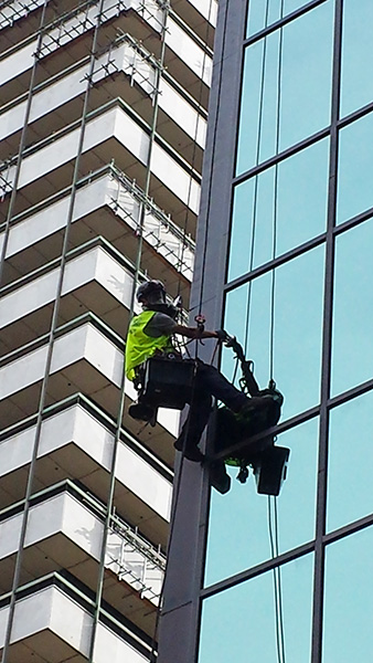High Rise Commercial Painting in the Melbourne CBD