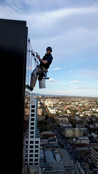 South Yarra Residential Tower, High Rise Window Cleaning